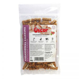 Oscar Turkey Treat for Cats 80 g